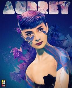 Le maquillage d'Audrey Hepburn